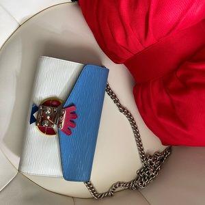 Louis Vuitton Epi Leather Tribal Mask Chain Wallet